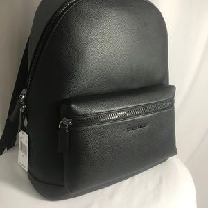 Brand New men's leather backpack.